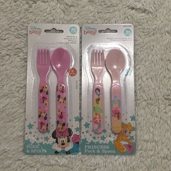 Disney baby Princess Fork and Spoon